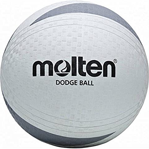 Molten Indoor/outdoor Sport Play Handball Soft Touch School Game Dodgeball White by Molten