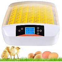 Edited Vollautomatisch Inkubator Brutautomat Digital Brutmaschine Brutkasten Hühner Brutzubehör Flächenbrüter Inkubator Zubehör (56 Eier)