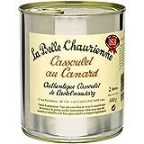La Belle Chaurienne - Cassoulet au canard, conserverie du Languedoc, Castelnaudary - La boîte de 840g - Prix Unitaire...