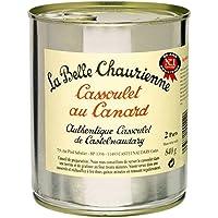 La Belle Chaurienne - Cassoulet au canard, conserverie du Languedoc, Castelnaudary - La boîte de 840g - Livraison...