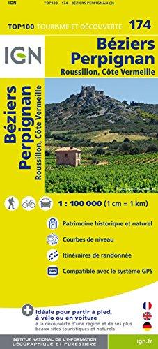 Top100174 Beziers/Perignan 1/100.0000 par Ign
