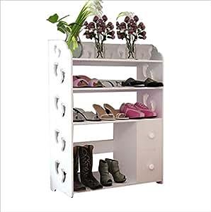 porte chaussures boite de chaussure taill e panneaux en bois bo tiers multifonctions. Black Bedroom Furniture Sets. Home Design Ideas