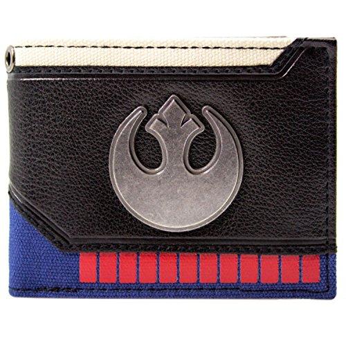 ufrüsten Rebel Schwarz Portemonnaie Geldbörse (Amidala Kind Kostüme)