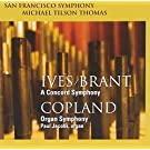 Ives / Brant: Concord Symphony / Copland: Organ Symphony by Paul Jacobs (2011-02-08)
