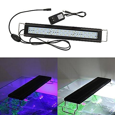 MUMENG Aquarium Lampe,AC100-240V 21W Aquarium Tube Luminaires D