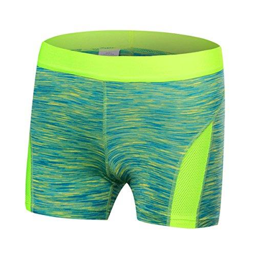 Sanke Juniors Sport Yoga Shorts Vert