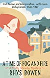 Front cover for the book Time of Fog and Fire by Rhys Bowen