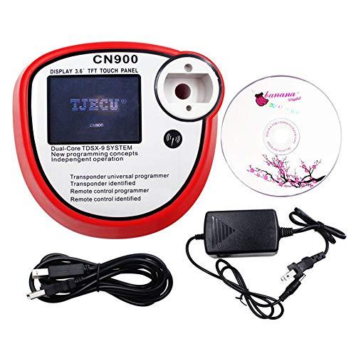 CN900 Smart Key Programmer Auto Mini Schlüssel Transponder Key Maker Kopieren Remote Programmer Maschine Universal für PKW LKW - Rot -