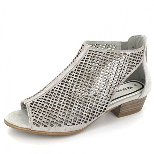 Tamaris Da.-Sandalette Größe 40 Grau (CLOUD)