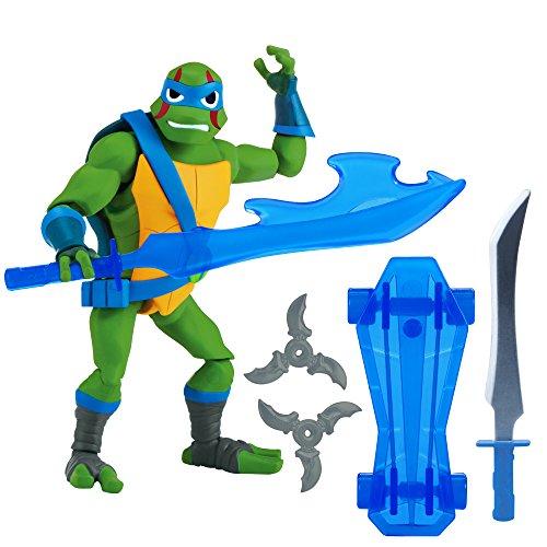 80801 Rise of The Teenage Mutant Ninja Turtles - Leonardo - Actionfigur mit Zubehör, etwa 10 bis 12cm ()