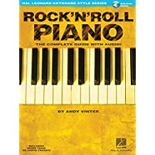 Hal Leonard Keyboard Style Series : Rock'N'Roll Piano Complete Guide + Cd.