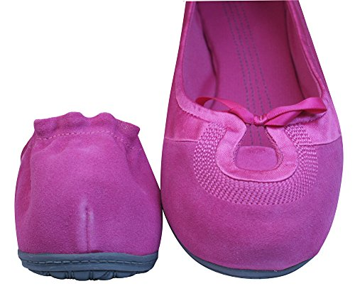 Puma Travel Ballerina Suede Femmes - Chaussures Fuchsia