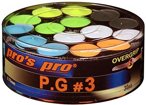 Preisvergleich Produktbild Pros Pro Overgrip P.G.3 30er bunt perforiert
