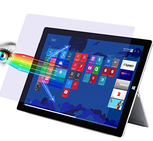 2 x PROTOMAX Displayschutzfolie für Microsoft Surface Pro 3 Tablet, mit Blaulichtfilter PROEYE, Tablet / Laptop, lebenslange Garantie (2er Pack)
