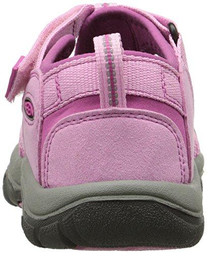 Keen Unisex-Kinder Newport H2 Sandalen Trekking-& Wanderschuhe rosa - grau