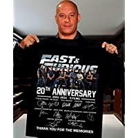 FAST&FURIOUS 20TH Anniversary 2001-2021 Signature Thank you Shirt for Men Women