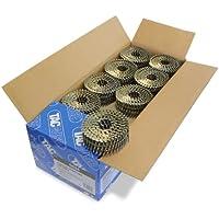 Tacwise 0424 - Caja de bobinas planas de clavos anillados 2.5/55 mm (300 clavos en cada bobina)