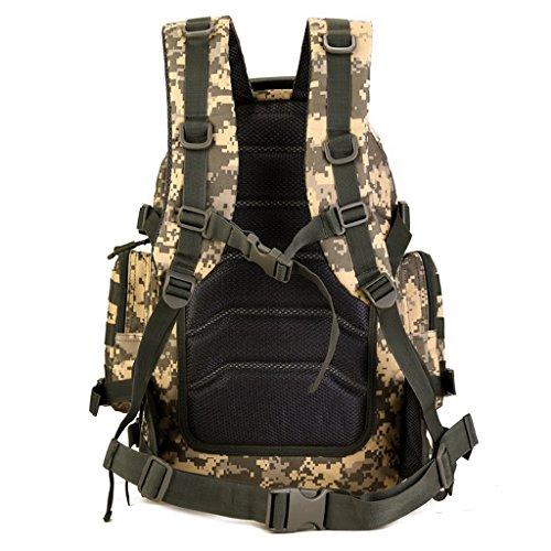Generic 40L Taktischer Rucksack, Trekkingrucksack, Robust und Stark - Outdoor Sport Rucksack ACU-Tarnung