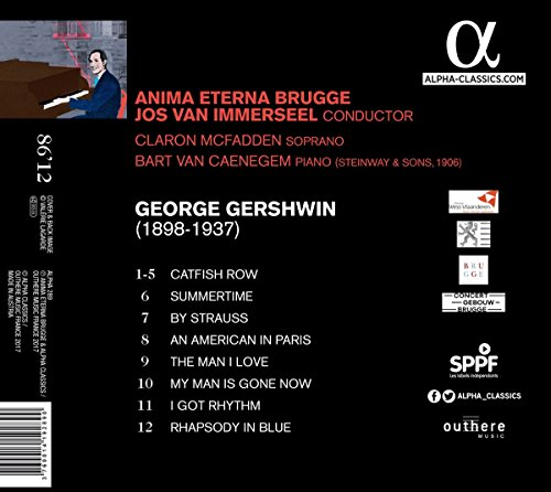 Gershwin: Rhapsody in Blue; Catfish Row
