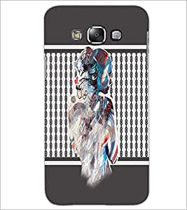 PrintDhaba Mysterious Girl D-2710 Back Case Cover for SAMSUNG GALAXY GRAND MAX (Multi-Coloured)