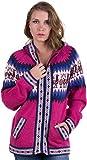 Gamboa - Alpaka Strickjacke für Damen - Alpaka Kapuzenpullover