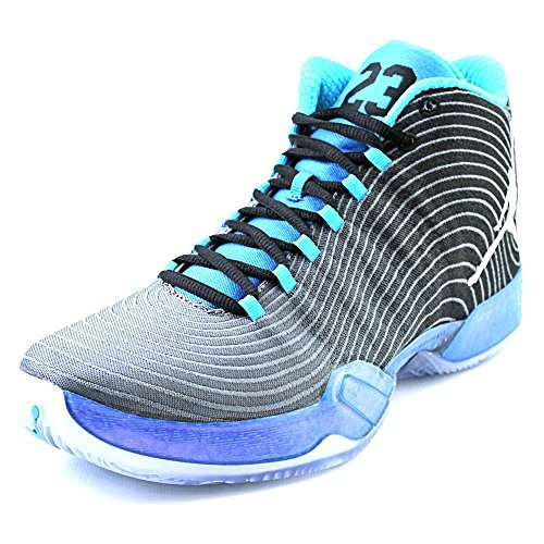 Nike Air Jordan XX9 Playoff Pack Herren BasketballSchuhe black white cool blue photo blue 014