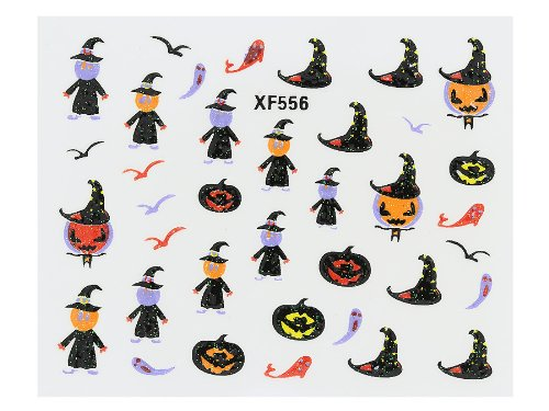 Nail art - Stickers pour les ongles - Halloween