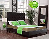Dreamzee 100% Natural Latex Certified Mattress - Medium Comfort (78X60X5 Inches)