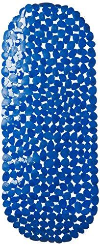 MSV 2108476Teppich Pebbles, Badewanne Blau 39x 99cm