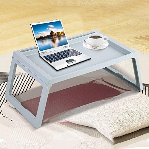 Zerone Faltbarer Tisch Frühstück Tisch Computertisch Laptoptisch Tragbarer  Tisch Im Bett Für Arbeit Und Spass(