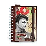 Agenda escolar 2017/2018Harry Potter (en Italiano)