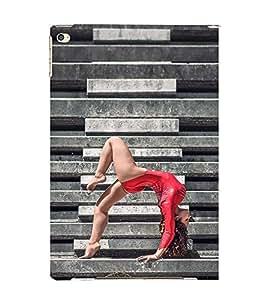 EPICCASE Gymnastic Girl Mobile Back Case Cover For Apple Ipad Air 2 (Designer Case)