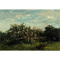 Poster Daubigny Apfelblüte