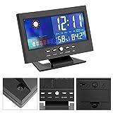 Horloge Digitale, Indicateur numérique d'humidité de la température, Calendrier...