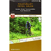 Outdoorkartan Schweden 14 Fulufjället - Trysil - Saelen 1 : 75 000: amtliche Karte