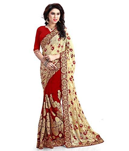 VINTAGE Girls cotton saree(VINTAGE O17_multi colour_Freesize)