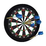 Relaxdays Bordure de protection pour cible pour jeu de fléchettes 'R5' tournoi dartboard 45 cm diamètre, noir