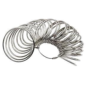 NIUPIKA Metall-Armreif-Größen-Messgerät für Juweliere, Professionelles Armband, Größe für Armbänder und Handgelenke
