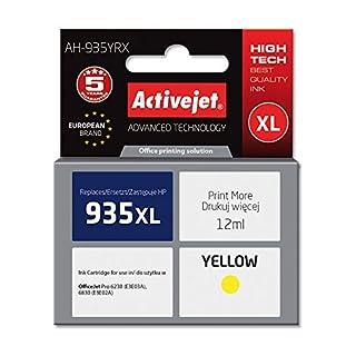 ActiveJet AH-935YRX Tinte für HP 935XL C2P26A rem, 12 ml gelb