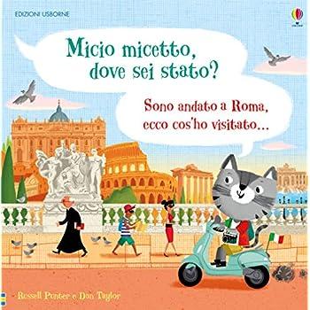 Micio Micetto, Dove Sei Stato? Roma. Ediz. A Colori