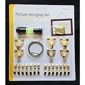 lot de crochets broches collier accroche rapide pour cadre photo cuisine maison. Black Bedroom Furniture Sets. Home Design Ideas