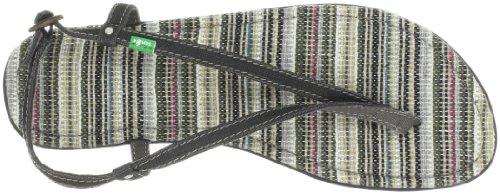 Sanuk Girlie Cha Cha 29418279, Tongs Pour Femmes Multicolores (mehrfarbig (black))
