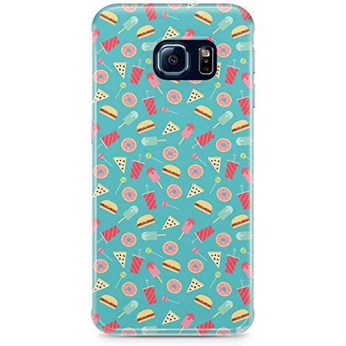 Queen Of Cases Coque pour Apple iPhone 5S-Junk Food-Premium en plastique vert