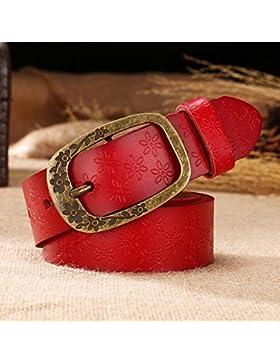 SILIU*La Sra. jeans clip de cinturón de cuero retro-gran código pin hembra ventral extensión amplia oferta de...