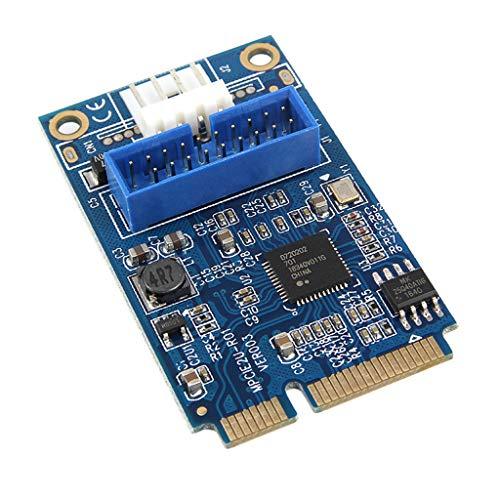 non-brand Mini PCI Express Auf 2X USB 3.0 Buchse Mini Pcie Erweiterungskarte -