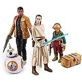 Star Wars The Force Awakens: Takodana Encounter Rey, Finn, Maz Kanata and BB-8 Action Figure 4-pack by Husbro
