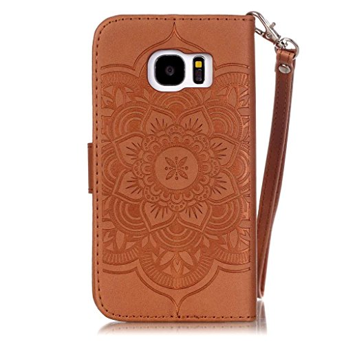Uming® spéciales Séries Motif Colorful Imprimer cas PU Holster Case ( Gold - pour IPhone6SPlus IPhone 6SPlus 6Plus IPhone6Plus ) Artificial-cuir flip avec support Stander titulaire de la carte de créd Brown