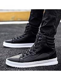 Lianaiec Botas de hombre Zapatos De Otoño Y De Invierno para Hombre Zapatos  De Alta Gama 579ac039f4534
