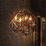 Led Leuchten Edison Lights Kronleuchter E14 Sockel Mit Kugel Korb Für