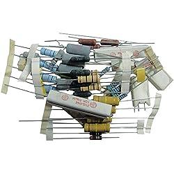 Maplin - Bolsa con surtido de componentes electrónicos y resistencias (50 unidades)